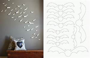 Diy paper bat wall art pictures photos and images for
