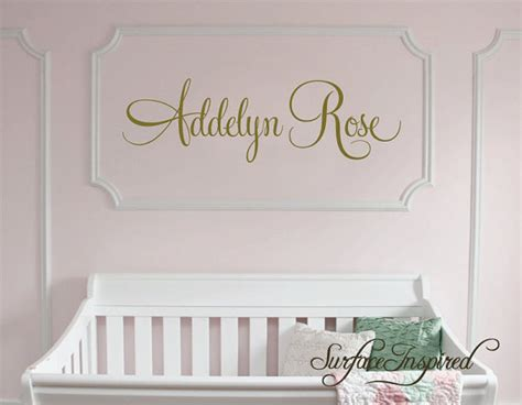 nursery wall decals personalized name wall decal for boys and