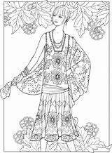 Coloring Pages Adult Creative Books Haven Dover Adults Jazz Publications Age Printable Sun Fashions Doverpublications Colouring Girly Patterns Cool Print sketch template