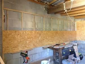 Mur En Osb : atelier garage de poupou sa avance doucement ~ Melissatoandfro.com Idées de Décoration