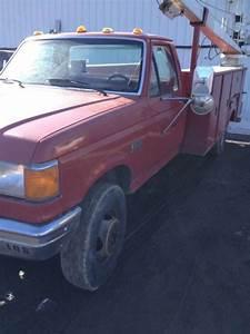 1989 Ford F450 Super Duty Diesel Non 4x4 Autocrane 7 3