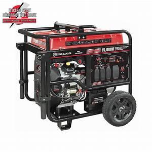King Canada Generator 6500w Manual