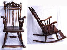 rocking chair design rocking chair with footrest antique rocker carved baroque mahogany