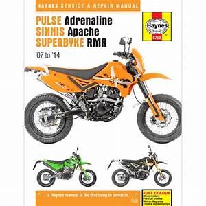 Haynes Manual 5750 For Pulse Adrenaline 125  250