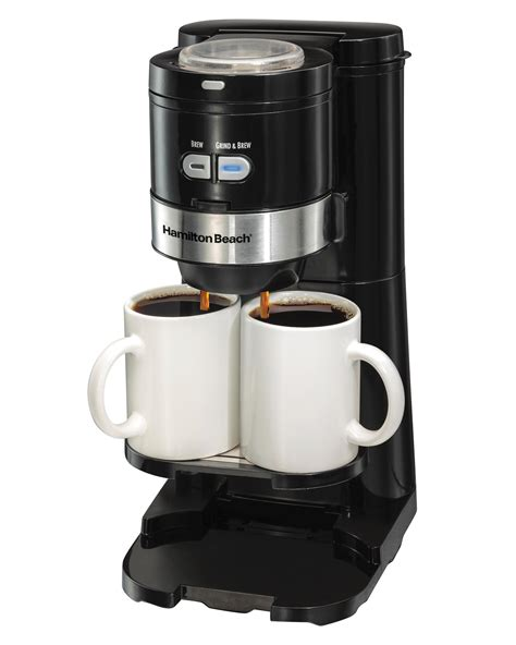 Amazon.com: Hamilton Beach Coffee Maker, Grind and Brew Single Serve, Black (49989): Kitchen