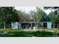 forest house concept on Behance