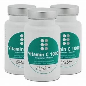 Vitamin D Dosierung Berechnen : orthodoc vitamin c 1000 im 3er pack g nstig kaufen ~ Themetempest.com Abrechnung