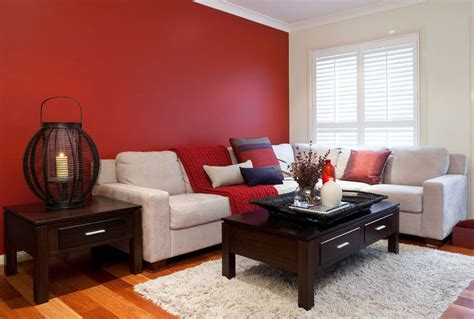 High Quality Red Paint Colors For Living Room