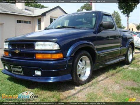 2003 Chevrolet S10 Xtreme Regular Cab Indigo Blue Metallic