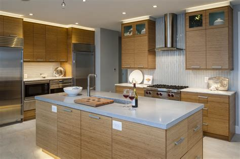 Bentwood Cabinetry, Bamboo Cabinets, Open Floor Plan