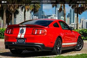 Used 2012 Ford Mustang Shelby GT500 For Sale ($36,000) | Brickell Luxury Motors Stock #L3006A