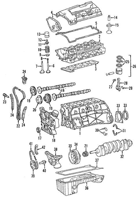 Mb Engine Diagram by 1997 Mercedes C230 Parts Mercedes Parts Center