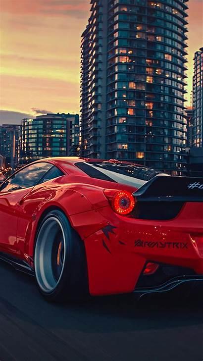 Ferrari Liberty Walk Desktop Wallpapers Iphone Mobiles