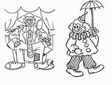 Clown Coloring Pages Scary Pennywise Printable Clowns Circus Getcolorings Print Popular Getdrawings Coloringhome Sweet Looking sketch template