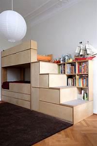 Treppe Mit Stauraum : kinderzimmerm bel etagenbett stockbett mit treppe und ~ Michelbontemps.com Haus und Dekorationen