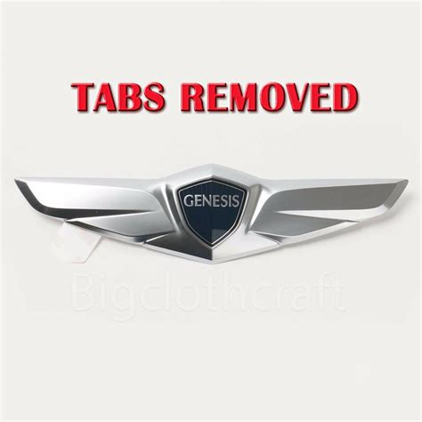 Hyundai Wing Emblem by Ship From Usa Oem Tailgate Trunk Wing Emblem For Hyundai