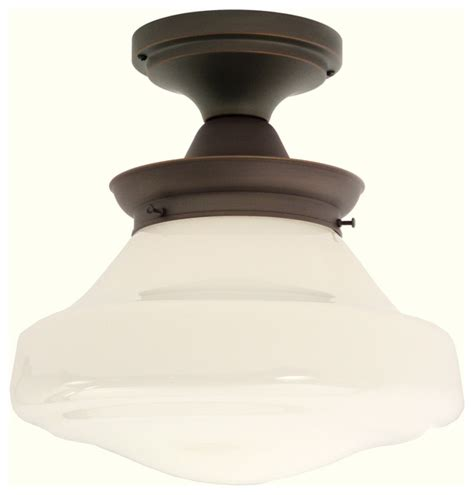 creighton semi flushmount light fixture traditional