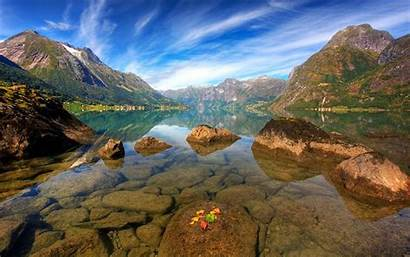 Norway Nature Norwegian Geology Wallpapers Mountains Landscapes