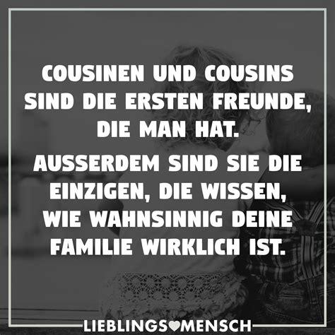 cousinen und cousins sind die ersten freunde die man hat