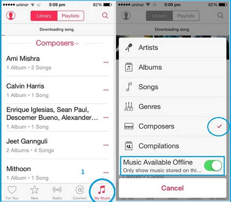 how to find an offline iphone steps for song from apple in iphone