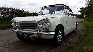 Triumph Vitesse : triumph vitesse mk2 convertible 1968 white ~ Gottalentnigeria.com Avis de Voitures