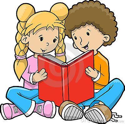 children reading together clipart children reading books together clip