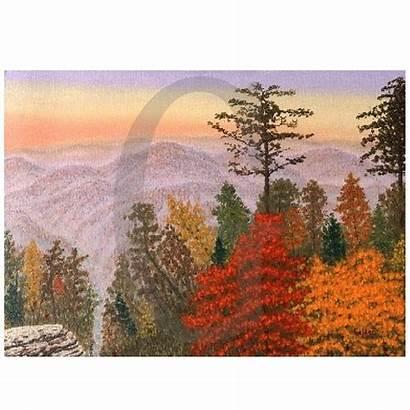 Lee William Golden Ozark Mountain Painting Jubilee