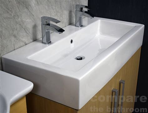 Rectangular Vanity Sink Narrow Sink Large