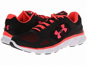 New Women s Under Armour Micro G Assert V Black Neon Pink