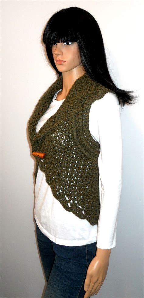 Best 25 Crochet Vests Ideas On Pinterest Crochet Vest