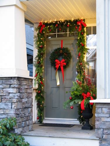 christmas front door decorating ideas  popular front