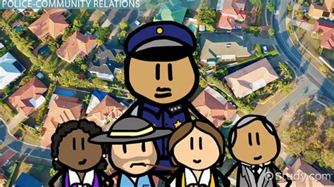history  police community relations analysis