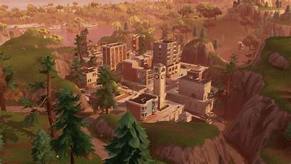 Tilted Fortnite Towers Wallpapers 4k Ultra