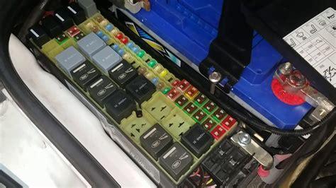 range rover fuse box location repair manual