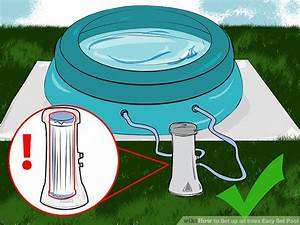 How To Set Up An Intex Easy Set Pool  15 Steps  With Pictures
