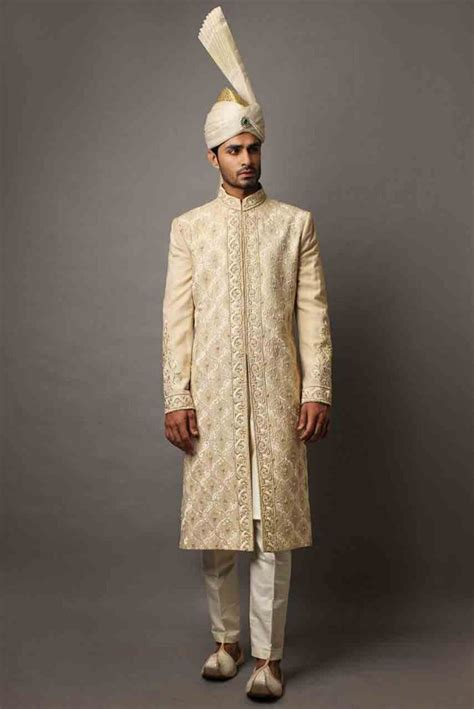 groom wedding sherwani designs  barat  fashioneven