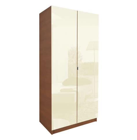 alta 2 door wardrobe side by side contempo space