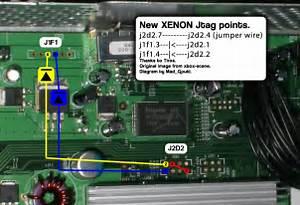 Diygaming  Jtag An Xbox 360  Wiring The Jtag Mod  Part 4