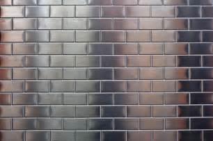 kitchen backsplash travertine tile shiny metallic small silver metal tile background free
