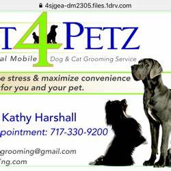 Just 4 petz mobile grooming pet grooming york pa for Dog grooming york pa
