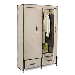 Heavy Duty Wardrobe Closet by Heavy Duty Large Capacity Storage Portable Closet Wardrobe