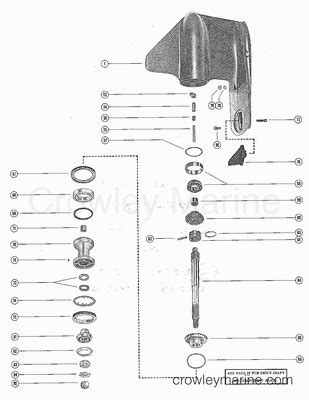 1975 Mercury 850 Wiring Diagram by 1975 Mercury Outboard 85 1850505 Parts Lookup