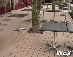 Lame De Bois Pour Terrasse : pose du bois composite piveteau bois ~ Premium-room.com Idées de Décoration