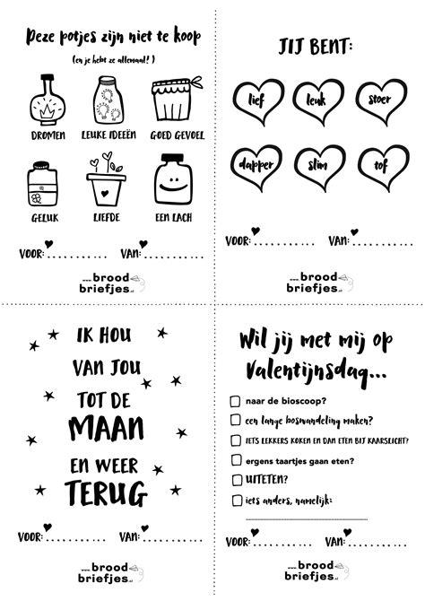 Kleurplaat Juf Valentijn by Lieve Broodbriefjes Voor Valentijnsdag Of Zomaar