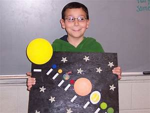 solar system diorama project | Third graders have been ...