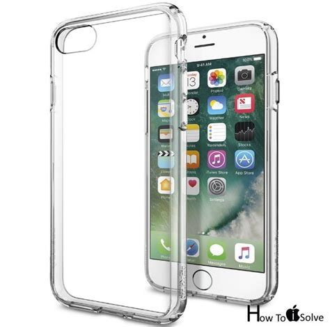 how to clear iphone best iphone 7 clear cases transparent protection surety