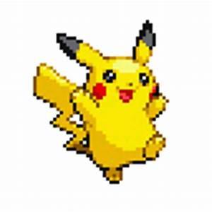 Pokemon Pikachu Sprite Images | Pokemon Images
