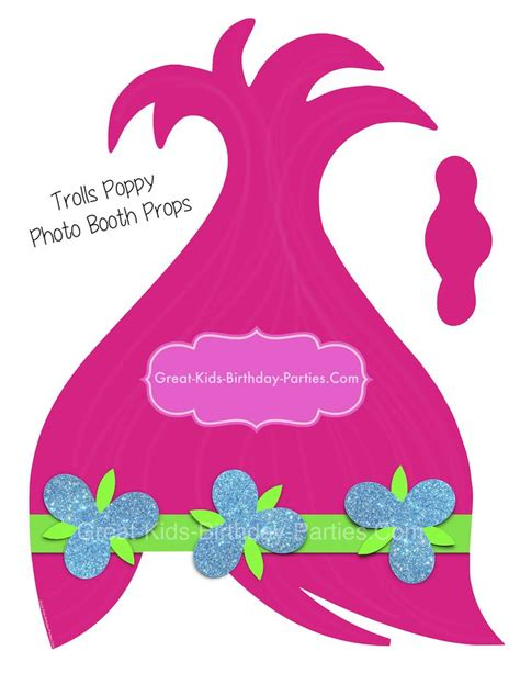 Trolls Hair Template by 17 Best Images About Trolls Party On Pinterest Places