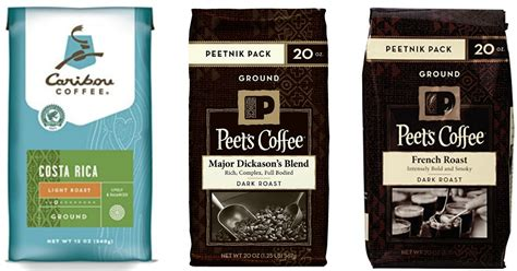 Nice Deals On Caribou & Peet's Ground Coffee Coffee Percolator Working Icon Tomball Lead Yellow Bean Logo Lovers Beans Instructions Stovetop Vector