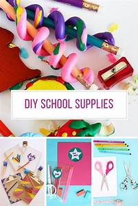 23 Awesome DIY School Supplies Your Kids Will Love | Just ...